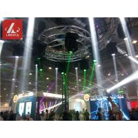 China Rotating Circle Aluminium Trusses Revolving Lamp For Event / Club / Big Show on sale