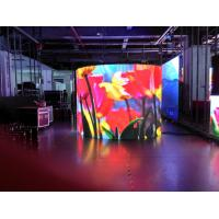 China Self - Inspection Flexible LED Screen P4 Indoor Full Color LED Display P4 on sale