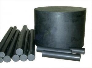 China Black Filled PTFE Teflon Rod on sale