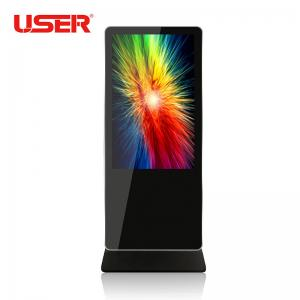 China 55\ floor standing digital display with lcd touch screen on sale