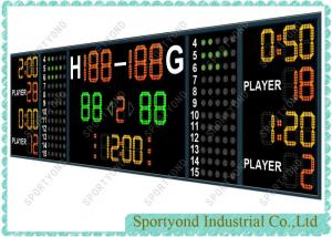 China Electronic Scoring Board In Basketball / Handball / Hockey Game Scoreboards on sale