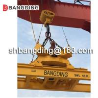 ISO standard semi-automatic 20 feet and 40 feet hydraulic container spreader