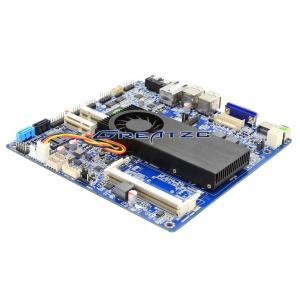 China Celeron 1037U Industrial PC Motherboard , Double 8 LVDS 30 pin Max 8 GB RAM Mini Itx Motherboard on sale