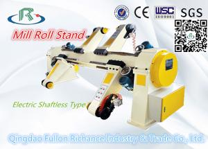 China ZJV-E Type Corrugated Carton Paper Electric Shaftless Mill Roll Stand on sale