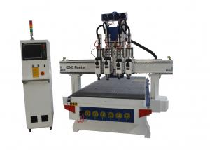 China 16 Tool Changer Automated CNC Wood Cutting Machine For Furniture Door on sale