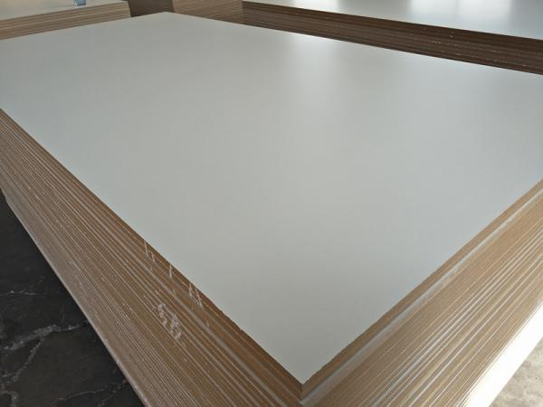 Factory of MDF BOARD Furniture grade melamine faced mdf