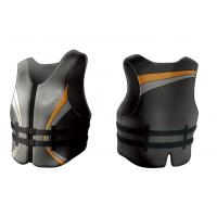 OEM Personalized PVC Foam 2.5mm Neoprene Life Jacket with YKK Zipper