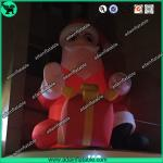 Inflatable Santa, Lighting Inflatable Claus,Inflatable Santa Claus With LED Light