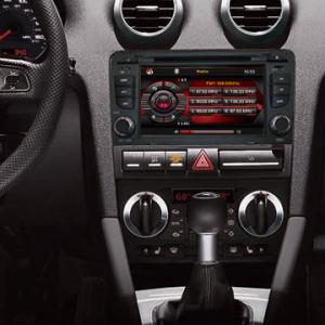 AUDI A4 2 din Car radio dvd player with GPS Navigation