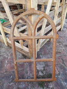 China Antique European Furnature Cast Iron Windows Frame For Home Decorationl on sale