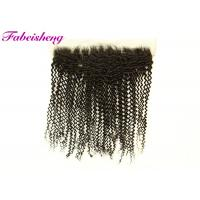 """13x6 Lace Frontal / 13x4 Transparent Lace Frontal 10-18"""" Curly"""