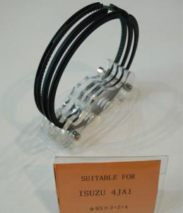 China Isuzu Engine Parts Isuzu 4JA1 Piston Ring First Ring Nodular Iron 93x2+2+4mm on sale