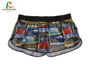 China Plus Size Colorful Short Womens Swim Board Shorts With Logo Printed on sale