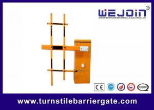 China Highway Toll Barrier Arm Gates Stainless Steel With IP44 RS485 on sale