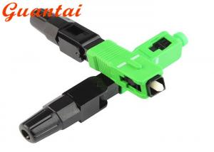 China Free Sample FTTH Fiber Optic Fast Connector SC / APC >50N Tensile Strength on sale