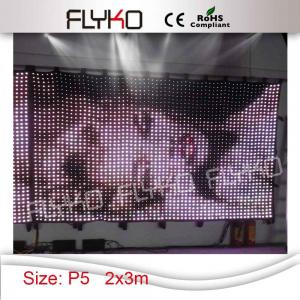 China China amazing foldable soft display xxx movies led video curtain on sale
