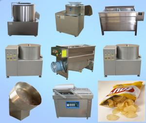 China High Performance Potato Chips Production Line Fast Speed ISO Certification on sale