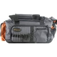 Grey lightweight Water Resistant eco friendly Fishing Tackle Bag, surf fishing tackle bag