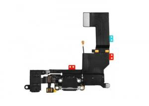 China Mobile Phone Spare Parts Iphone 5S Charger Dock , Charging Port Flex Cable on sale