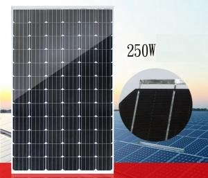 China LEDs Solar Power Voltage Power Foot Panel 250W Grid-Connected Solar Panel PV Module Home Outdoor Panel Power Generation on sale