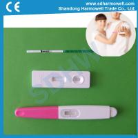 Hot sale one step rapid urine hcg pregnancy test with CE and FDA certification