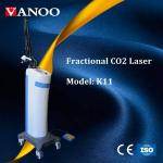 Co2 Glass Laser Tube / CO2 Fractional Laser Machine Improve Skin Laxity / Photoaging