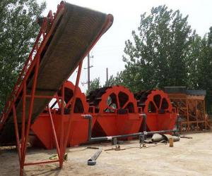 China Classifying screen sand screening plant 100kw with Diesel generator on sale
