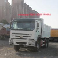 Chinese popular best selling truck HOWO dump truck