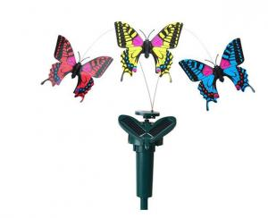 China Flying solar flower butterfly/solar toys/solar gifts on sale