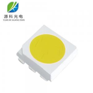 China 60 MA Smd 5050 Led Chips 1.6 Mm Thickness Pure White 6000 - 6500 K on sale