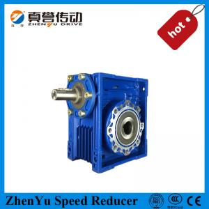 China Box Shape Aluminum Alloy Worm Gear Gearbox / Reduction Gear Boxes 1.1KW on sale