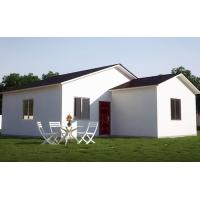 European Style Prefab Steel House Custom Metal Frame House Construction