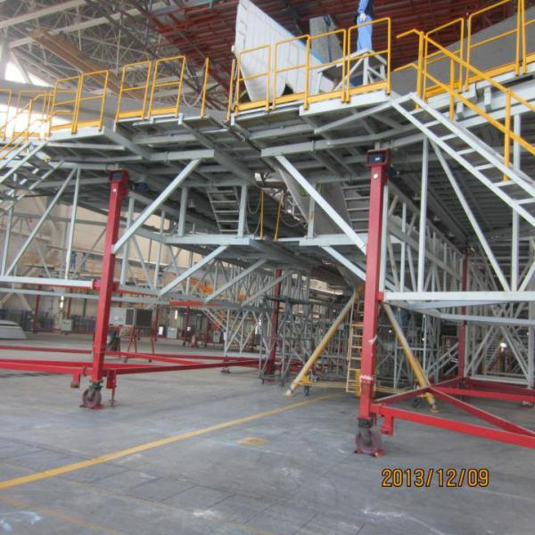 Tail Dock High Tensile Aircraft Scaffolding With Ring Lock