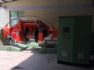 China 380V 50HZ Copper Wire Twisting Machine , Aluminum Wire Stranding Machine on sale