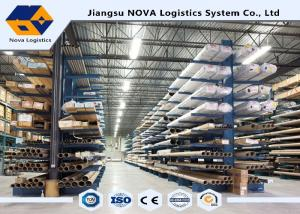 China Single / Double Side Storage Heavy Duty Cantilever Rack With Steel Materials on sale
