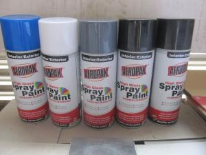 China 400ml Aerosol Spray Paints, Lacquer on sale