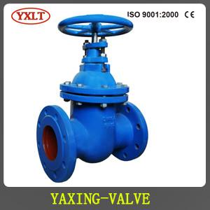 China DIN CAST IRON NON-RISING STEM GATE VALVE,METAL SEATED,F5 PN16 on sale