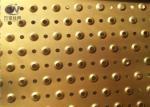 3mm Thick Perforated Galvanized Platform Floor Anti Skid Grating Plate Sheet