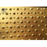 China 3mm Thick Perforated Galvanized Platform Floor Anti Skid Grating Plate Sheet on sale