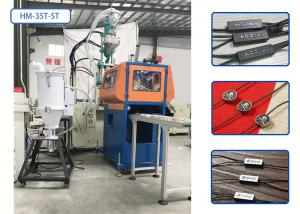 China Waxed Cotton Rope Plastic Injection Moulding Machine With Hot Stamping / Crusher on sale