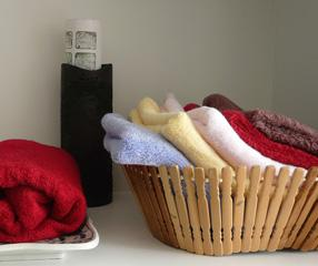 China 100 bamboo fiber hand towels on sale