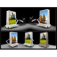 China Mobile Taxi LED Display IP65 Waterproof , Motorcycle Moving Message Display on sale