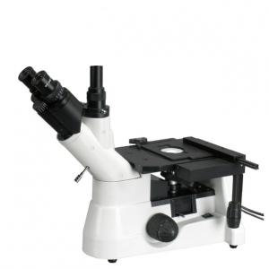 China 40X-400X Professional Trinocular Inverted Metallurgical Microscope/Metallurgy Microscopy on sale