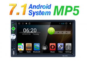 China Multi - Touch Support Mp5 Car Stereo Capacitive Android 7.1 Operating System on sale