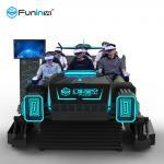 Electric Platform 6 Seats Arcade Virtual Reality Simulator / 9D VR Cinema