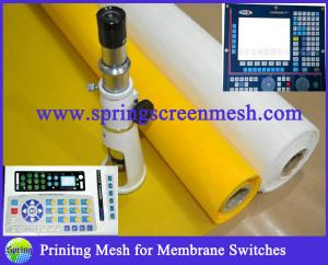 China Membrane Switches Printing Material Polyester mesh on sale