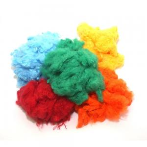 China 1.5D Recycled Polyester Fiberfill , Conjugated Polyester Fiber Good Flexibility on sale