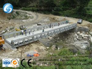 China CB321(CB100) DSR,Hot Dip Galvanized,Bailey Bridge,Modular bridge,Temporary In Nepal,bridge on sale