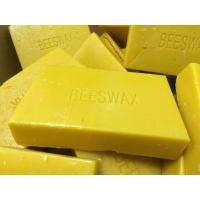 China Yellow beeswax for making natural candles on sale