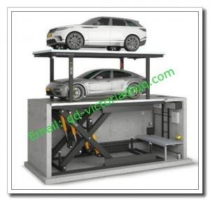 China On Sale! Double Deck Car Stacker Pit/ Parking Machine for Sale/ Garage Storage Racks/Garage Storage Lift/ Smart Parking on sale